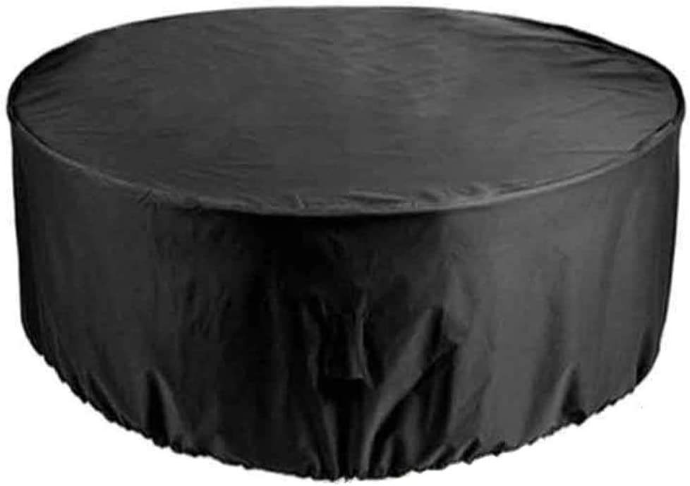 FCXBQ Furniture Covers for Outside Round 239x58cm, Patio Set Outdoor Garden Furniture Protection Strong and Durable Waterproof, for OutdoorGarden Furniture Cover