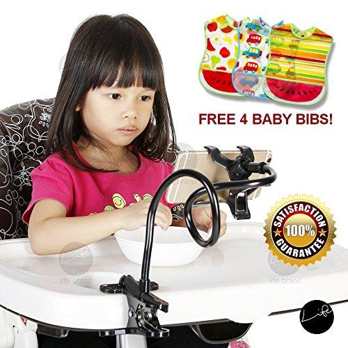 - LIFE Handphone Holder FREE 4 Baby Bibs Car Seat Attachment Stroller Clip Hands-Free Clip Mommy Bendy Helper Feeding Handphone Bend Arm Armz Hand