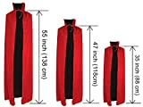 Black and Red Reversible Halloween Christmas