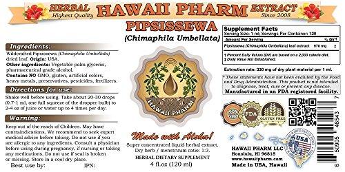 Pipsissewa-Liquid-Extract-Pipsissewa-Chimaphila-umbellata-Tincture-Herbal-Supplement-Hawaii-Pharm-Made-in-USA-32-floz