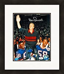 Autograph 223924 New York Giants Celebration Jsa Authenticated Matted & Framed Bill Parcells Autographed 8 x 10 in. Photo