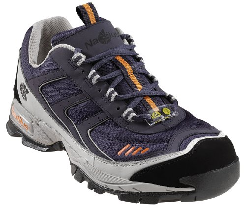Nautilus 1326 ESD No Exposed Metal Safety Toe Athletic Shoe,Navy,10 ()