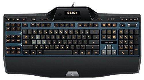 Logitech G510s Gaming Keyboard with Game Panel LCD Screen (Renewed)