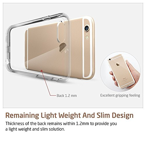 super Thin Christal sharpened Transperant soft Gel TPU Silicone thin scenario for iPhone 6 Plus 6S Plus by using sharpened Back Panel Scratch immune Shock researching Bumper super Thin Non get great in good shape Cases