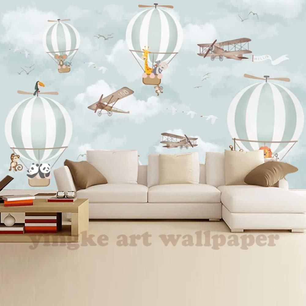 Benutzerdefinierte Mural Tapete Heißluftballon Tv Hintergrundbild Wandbilder Für Kinderzimmer Schlafzimmer Wohnzimmer Tapete, 400 Cm X 280 Cm