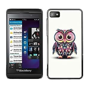 - DISCO BIRD OWL DRAWING COLORFUL EYES PINK - - Monedero pared Design Premium cuero del tir???¡¯???€????€?????n magn???&rsquo