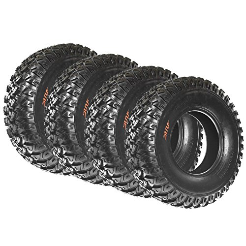 Full Set of 4 SunF Radial A/T UTV ATV Tires 30x10R14 30x10x14 6 PR A045