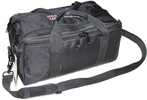 USA-GunClub-Range-Bag-with-Removable-Hook-Loop-Dividers-Black-Medium