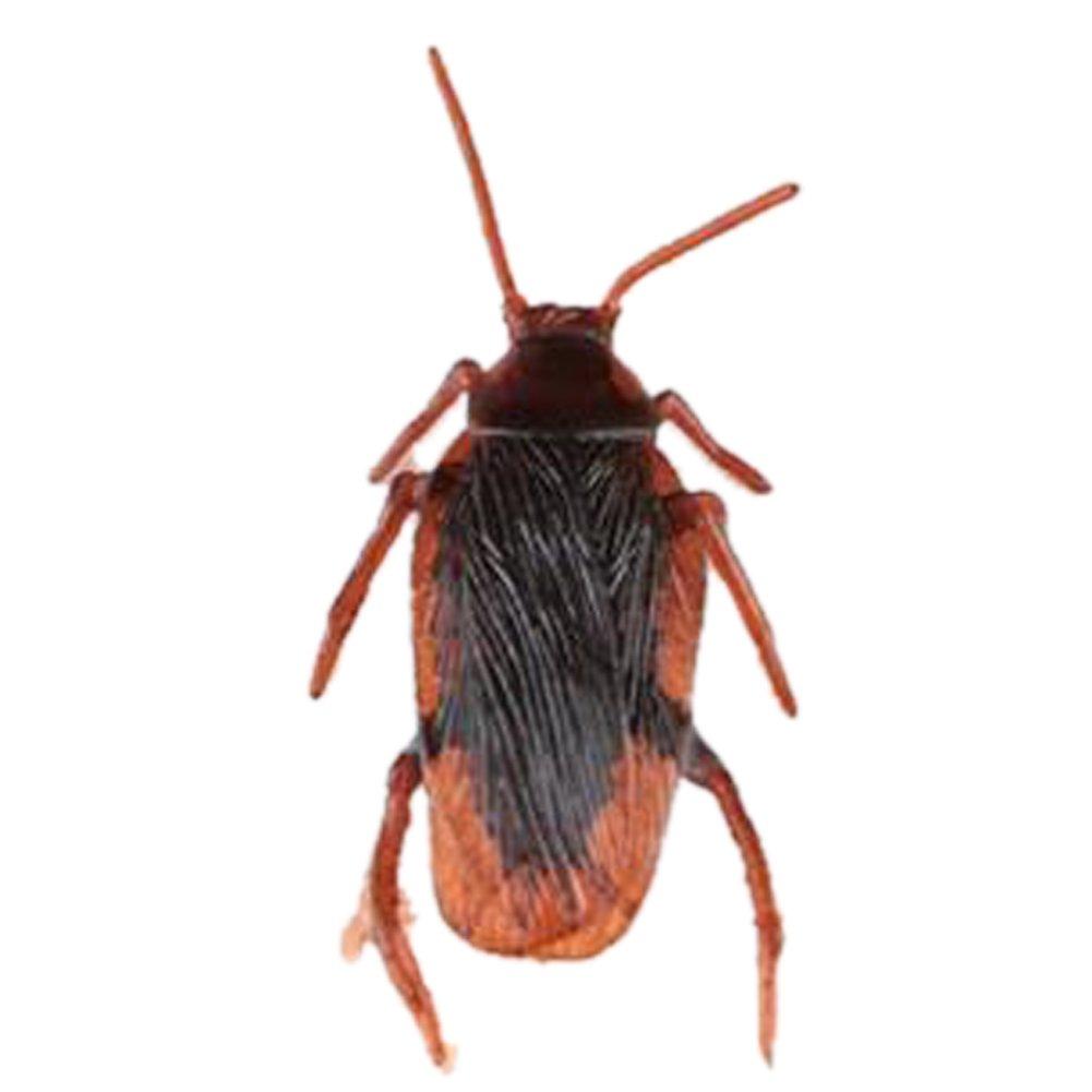 Dosige Faux Cafards Cockroach en Plastique Prank Scary Trick Roach Bugs pour Halloween Jour (1 PCS)