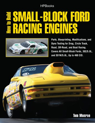 This guide for building a race-winning Ford engine includes chapters on parts and engines, cylinder block, cylinder heads, bottom-end modifications, exhaust systems, cooling systems, final engine assembly, dyno-tested performance combinations and mor...