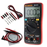 TR.OD ANENG AN8008 True-RMS Digital Multimeter 9999 Counts Square Wave Backlight AC DC Voltage Ammeter Red