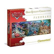 Clementoni Disney Cars Panorama 1000 Piece Jigsaw Puzzle