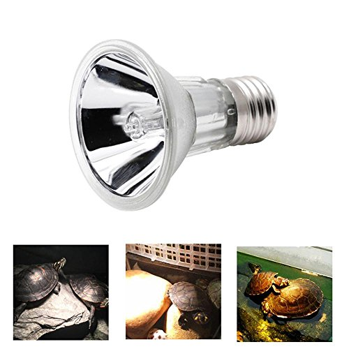 Uv Mercury Vapor Spot Lamp - Aolvo Uvb Reptile Light, E27 Socket Full Spectrum UVA UVB Reptile Light Bulb, Reptile Lizard Turtle Basking Light Lamp Spot, Reptile Terrarium Heater Lamp, Help to Calcium Absorb & Healthy Growth