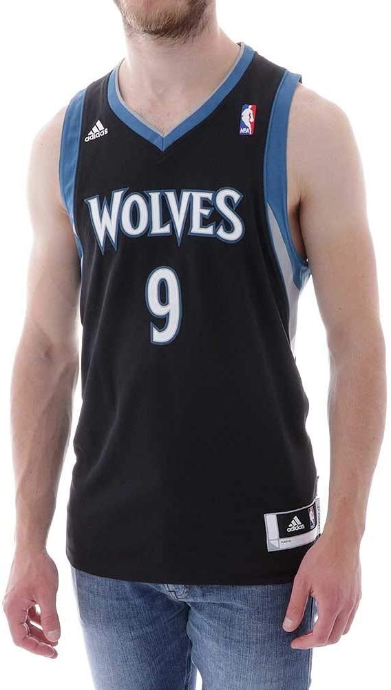 Camiseta Minnesota Timberwolves 3ª -Ricky Rubio-: Amazon.es: Deportes y aire libre