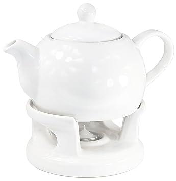 Teekanne Modern teekanne kanne stövchen set modern design amazon de küche