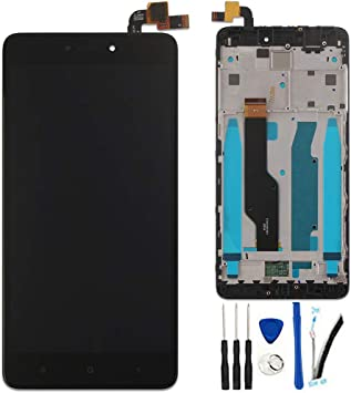 SOMEFUN Pantalla Táctil LCD de Digitalización con Marco Asamblea ...