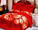 Designer Le Vele , Queen Duvet Set , Anya, 6 Piece Set