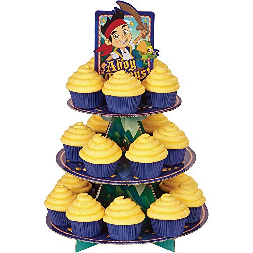 Jake and the Neverland Pirates Cupcake Treat Stand (Each) - Party Supplies