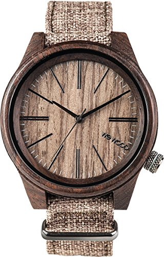 WeWOOD Torpedo (Chocolate Linen) Watch