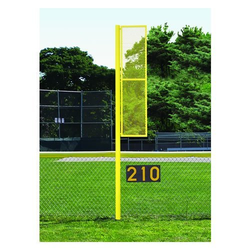 Baseball Foul Pole (Jaypro Sports BBSBFP-12 12 ft. Baseball-Softball Foul Pole)