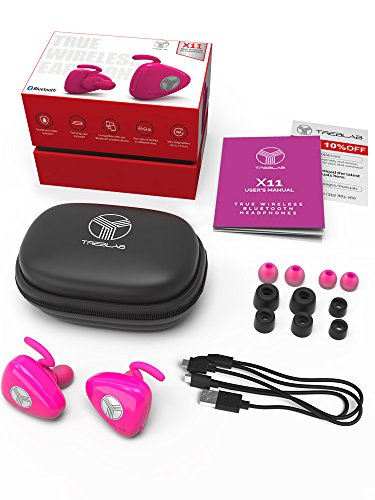 TreblabTREBLAB X11, Truly Wireless Bluetooth Earbuds, Best Sports Headphones Made For Running, Workout And Travel. True HD Sound, Secure-Fit, IPX4 Sweat-Proof, Noise Cancelling Headset w/ Mic >블루투스 헤드셋 - 스마트뉴욕 - 웹
