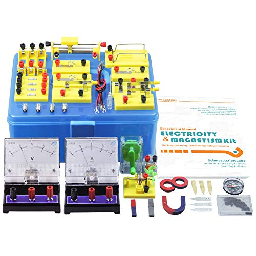 Teenii STEM Physics Science Lab Basic Circuit Learning Starter Kit Electricity and Magnetism Experiment for Kids Junior Senior High School Students Electromagnetism Elementary Electronics LERBOR by Teenii (Image #4)