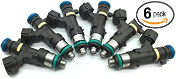 Set 02 03 Altima Maxima I35 Fuel Injectors /& Rail Pressure Regulator 3.5L 6 Cyl
