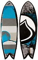 Liquid Force Fish w/ Handle Wakesurfer Sz 5ft 6in by Liquid Force