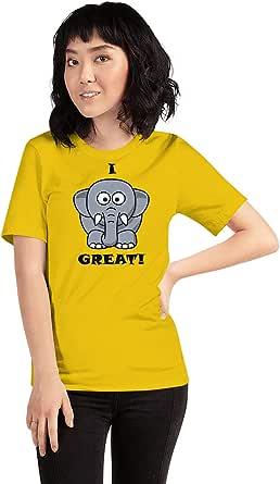 Art Gallery Misr Printed I Feel Good -T-Shirt Short Sleeve