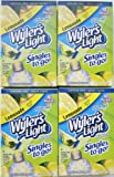 Wyler's Light Lemonade Singles To Go - 4 Boxes