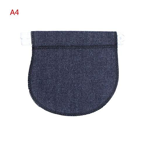 Maternidad Botón Venda de la cintura Ganchos Extensor de cinturon pantalon