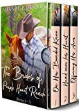 The Brides of Purple Heart Ranch Boxset, Books 1-3: Three Sweet Marriage of Convenience Western Romances