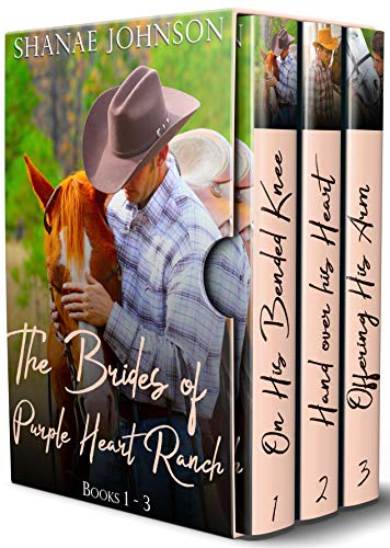 Pdf Romance The Brides of Purple Heart Ranch Boxset, Books 1-3: Three Sweet Marriage of Convenience Western Romances