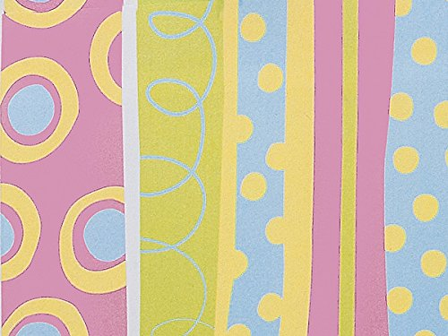 Pack Of 1, Snuggle Stripe 24'' X 417' Roll Gift Wrap For Approximately 175 -200 Gifts Made In USA by Generic
