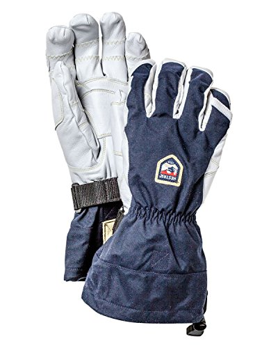 Hestra Gloves 30080 Heli Ergo Grip, Navy/Offwhite - 7 by Hestra