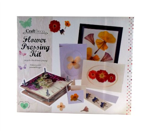 Complete Flower Pressing Kit - by Craft Deco – Lots of items -