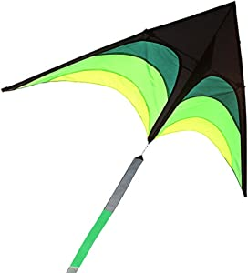 JJHAEVDY Huge Kite for Children and Adults - Very Easy to Fly Kite - Stable in Low Winds - Great Outdoor Toy for Beginners-1.6M Wide–30 Meter String