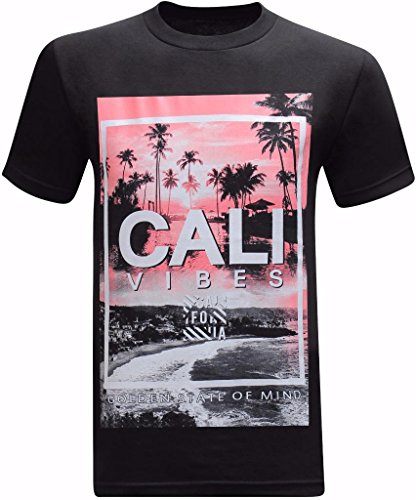 California Republic Cali Vibes Golden State of Mind Men's T-Shirt