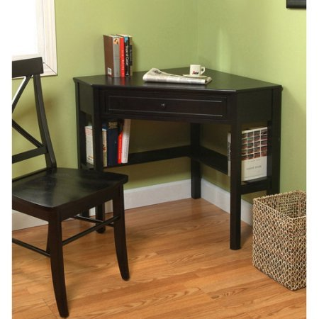 space saving wooden corner writing desk suitable for home