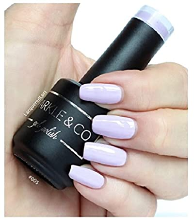 Amazon Com Sparkle Co Gel Color  Pastel Purple Soak Off Uv