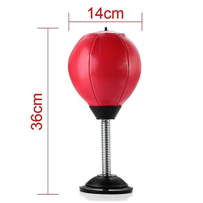 : shsyue 1pc Desktop Punch Ball HomeOffice