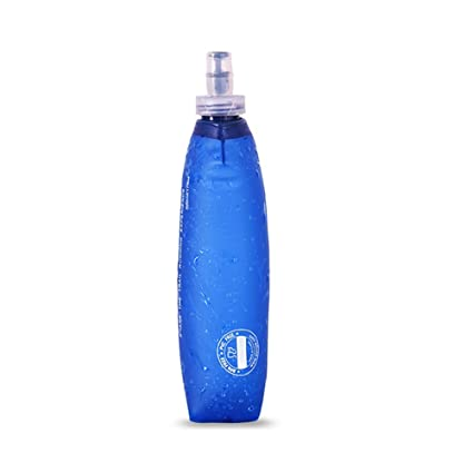 AONIJIE - Botella de Agua Suave, 500 ML, Botella de Agua Plegable, hervidor