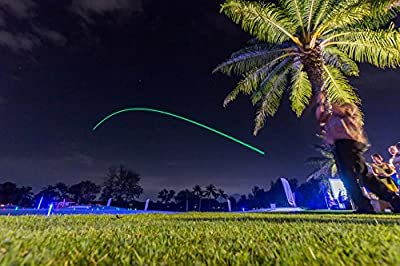 Night Sports USA Light Up Golf Ball (Pack of 4), Official Size/Weight, Red/Blue/Green/White