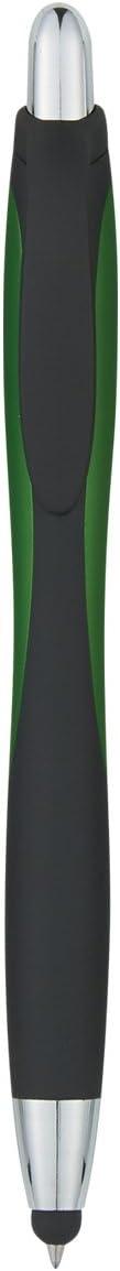 Logotastic Velvety Touch Stylus Pen Case Pack of 250 Red
