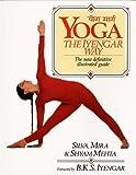 img - for Yoga: The Iyengar Way by Silva Mehta (1990-04-07) book / textbook / text book