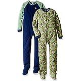 Gerber Little Boys' Baby and 2 Pack Blanket Sleepers, Monkey, 7