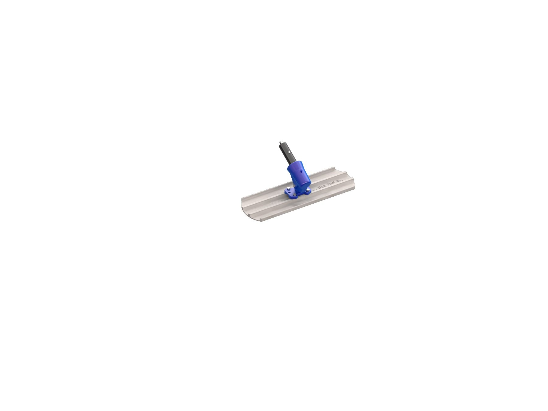 Bon 82-421 24-Inch by 8-Inch Round End Magnesium Bull Float with Wormgear Bracket by BON