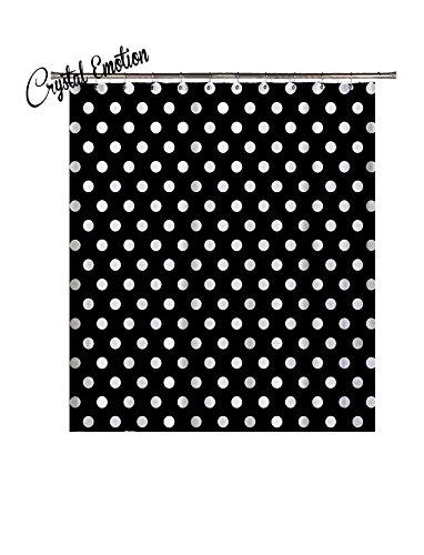 black and white polka dot shower curtain ideas polka dot shower curtains. Black Bedroom Furniture Sets. Home Design Ideas