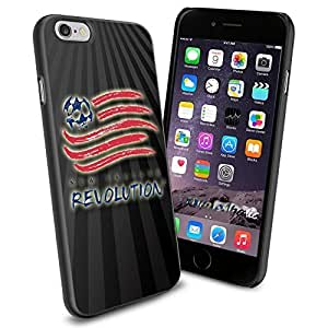 diy zhengSoccer MLS New England Revolution FC SOCCER FOOTBALL Logo , Cool iphone 5c Smartphone Case Cover Collector iphone TPU Rubber Case Black