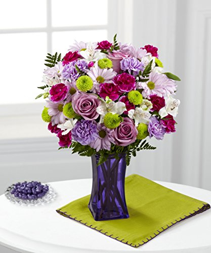 Purple Pop Bouquet - Fresh Flowers Hand Delivered in Albuquerque Area